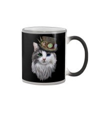 CAT WITH HAT Color Changing Mug thumbnail