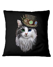 CAT WITH HAT Square Pillowcase thumbnail