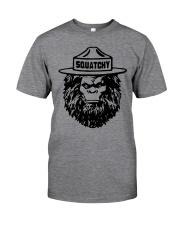 SQUATCHY  Classic T-Shirt front