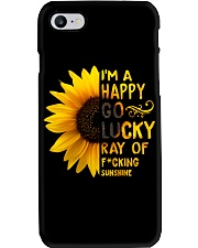 I'M A HAPPY GO LUCKY RAY OF SUNSHINE Phone Case thumbnail