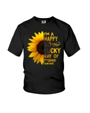 I'M A HAPPY GO LUCKY RAY OF SUNSHINE Youth T-Shirt thumbnail