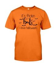 IT'S FRICKIN BATS I LOVE HALLOWEEN Classic T-Shirt thumbnail