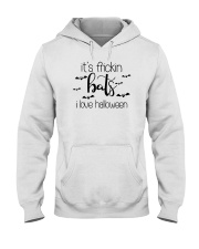 IT'S FRICKIN BATS I LOVE HALLOWEEN Hooded Sweatshirt thumbnail