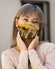 Irish Blood 4 Cloth Face Mask - 3 Pack aos-face-mask-lifestyle-17