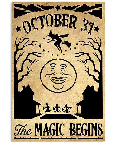 OCTOBER 31 THE MAGIC BEGINS