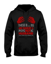 TAKEN BY A PSYCHOTIC HUSBAND Hooded Sweatshirt thumbnail