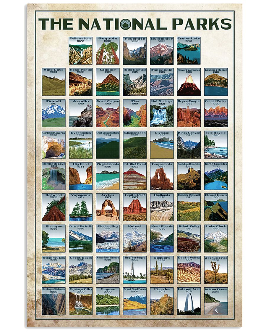 Limited Edition - 61 NPS 16x24 Poster