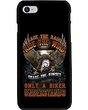 ONLY BIKER UNDERSTAND T-SHIRT Phone Case tile