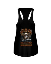 ONLY BIKER UNDERSTAND T-SHIRT Ladies Flowy Tank tile