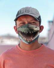 Shark Lovers 5 Cloth face mask aos-face-mask-lifestyle-06