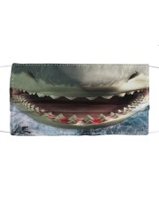 Shark Lovers 5 Cloth face mask front