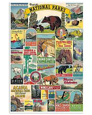 VISIT THE NATIONAL PARKS 16x24 Poster front