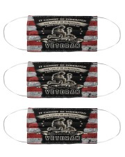 I Own It Forever The Title Veteran  Cloth Face Mask - 3 Pack front