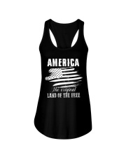 GIFT FOR INDEPENDENCE DAY Ladies Flowy Tank thumbnail