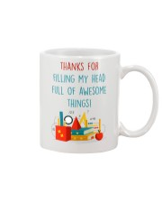 THANKS FOR FILLING MY HEAD FULL OF AWESOME THINGS Mug front