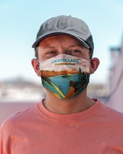 Crater Lake National Park Cloth Face Mask - 3 Pack aos-face-mask-lifestyle-06