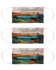 Crater Lake National Park Cloth Face Mask - 3 Pack front