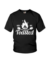 LETS GET TOASTED Youth T-Shirt tile