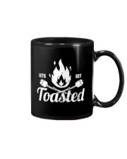 LETS GET TOASTED Mug tile