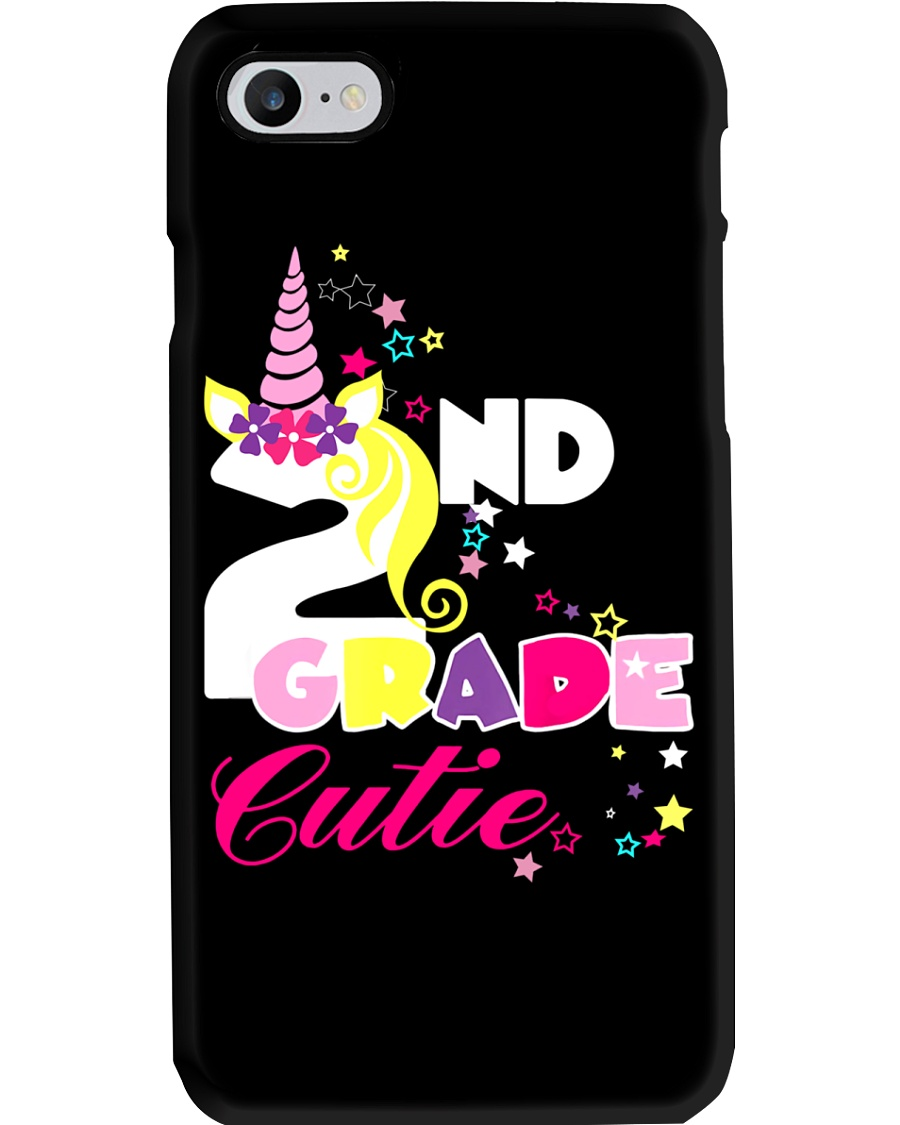 2ND GRADE CUTIE UNICORN  Phone Case