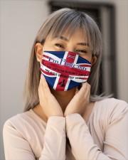 I'm British My Eyes Definitely Say It  Cloth Face Mask - 3 Pack aos-face-mask-lifestyle-17