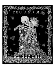 """YOU AND ME Quilt 60""""x70"""" - Twin front"""
