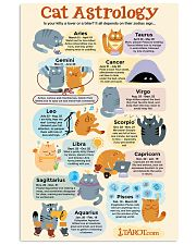 CAT ASTROLOGY 11x17 Poster front