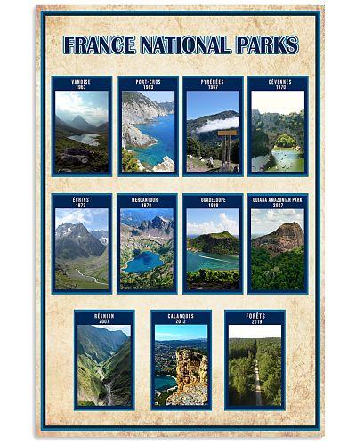 FRANCE PARKS POSTER