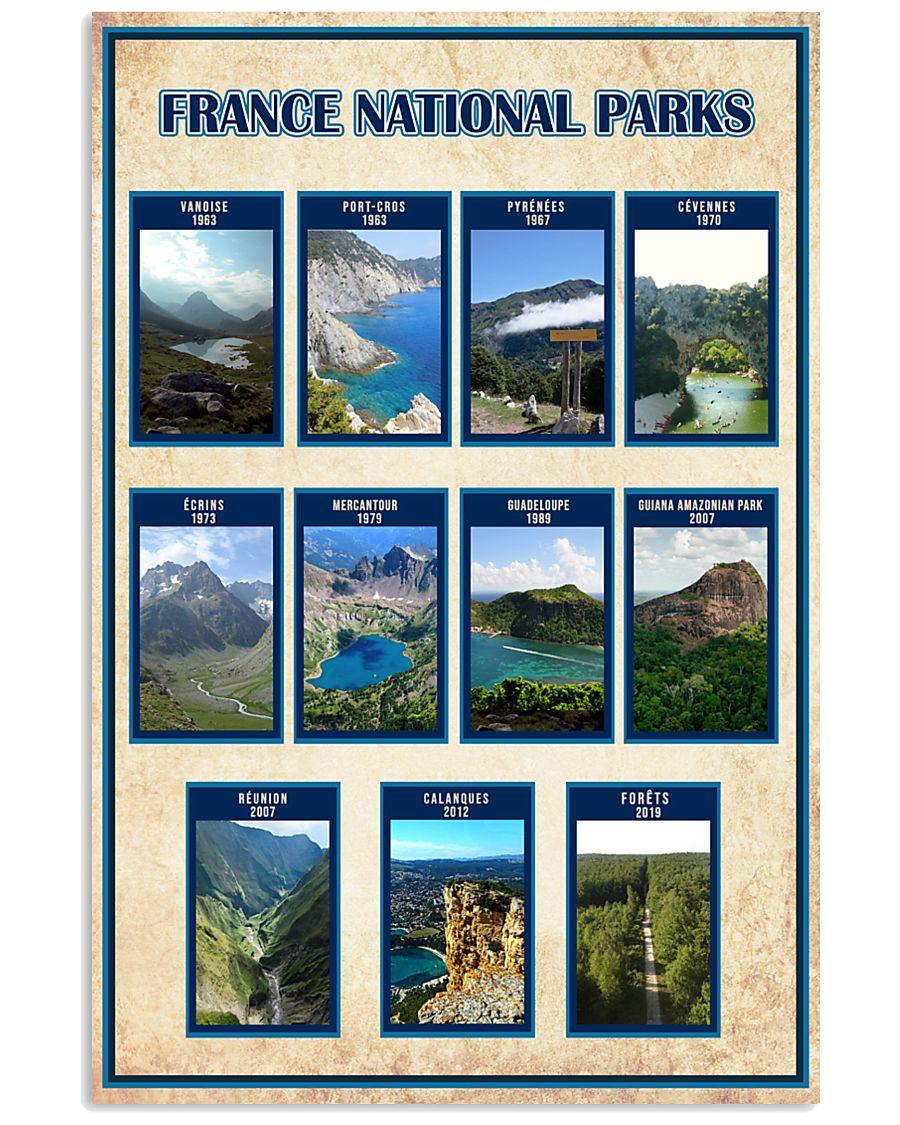FRANCE PARKS POSTER 16x24 Poster