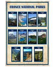 FRANCE PARKS POSTER 16x24 Poster front
