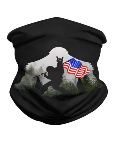 BIG FOOT US FLAG
