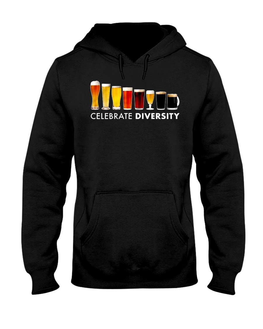 BEER DIVERSITY T-SHIRT Hooded Sweatshirt