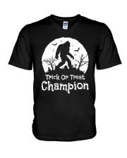 TRICK OR TREAT CHAMPION V-Neck T-Shirt thumbnail