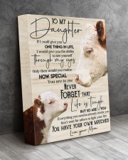 To my daughter 11x14 Gallery Wrapped Canvas Prints aos-canvas-pgw-11x14-lifestyle-front-08