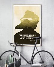THE MOUNTAINS ARE CALLING 24x36 Poster lifestyle-poster-7