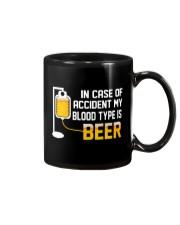 BEER BLOOD TYPE LONG SLEEVE TEE Mug thumbnail