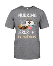 NURSING IN MY VEINS Classic T-Shirt front
