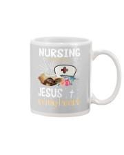NURSING IN MY VEINS Mug thumbnail