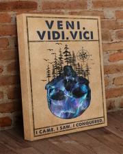 VENI VIDI VICI 16x20 Gallery Wrapped Canvas Prints aos-canvas-pgw-16x20-lifestyle-front-09