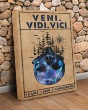 VENI VIDI VICI 16x20 Gallery Wrapped Canvas Prints aos-canvas-pgw-16x20-lifestyle-front-18