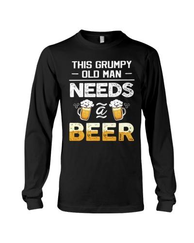 GRUMPY OLD MAN NEEDS BEER