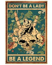 BE A LEGEND 16x24 Poster front