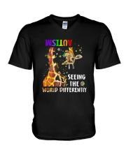 See the world V-Neck T-Shirt thumbnail