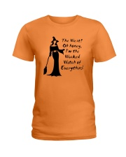 The West Oh honey I'm the wicked shirts Ladies T-Shirt front