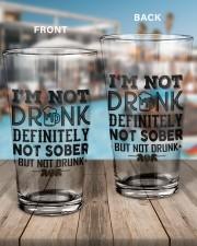 I'M NOT DRUNK 16oz Pint Glass aos-16oz-pint-glass-lifestyle-front-15