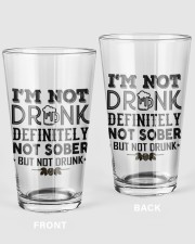 I'M NOT DRUNK 16oz Pint Glass front