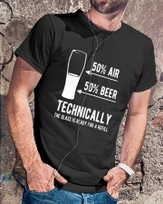AIR AND BEER T-SHIRT  Classic T-Shirt lifestyle-mens-crewneck-front-4