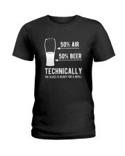 AIR AND BEER T-SHIRT  Ladies T-Shirt thumbnail