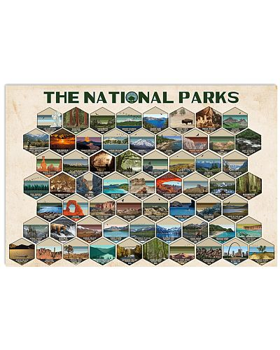 THE NATIONAL PARK POSTER