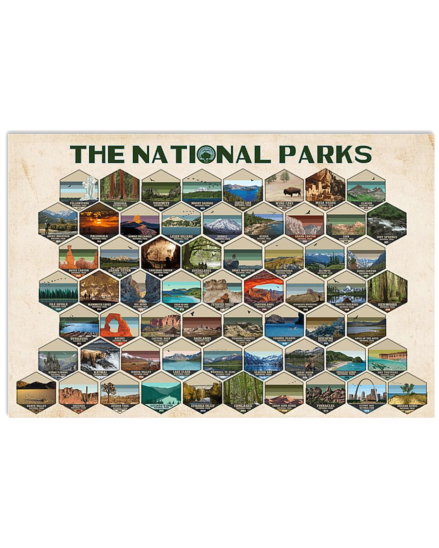 THE NATIONAL PARK POSTER 24x16 Poster